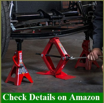 Jack Stand for automotive garage