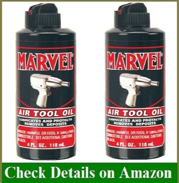 Marvel Air Tool Oil MM85R1-32 FI Oz