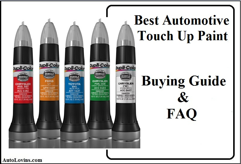 best automotive Tuch up paint