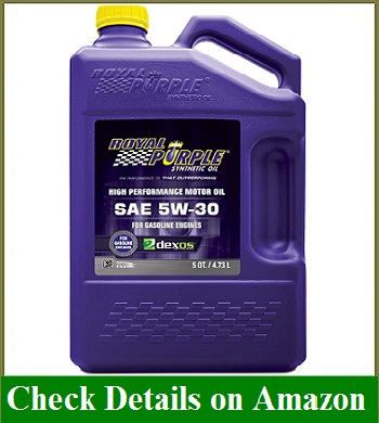 Royal Purple 51530 API-Licensed SAE 5W-30