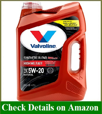 Valvoline High Mileage with MaxLife Technology SAE 5W-20