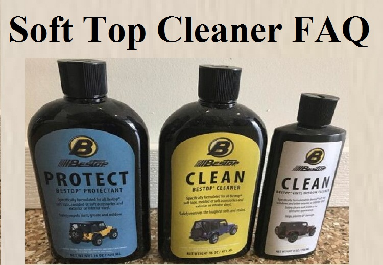 soft top cleaner faq