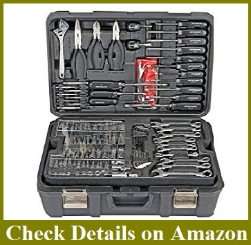 Professional 301 Piece Mechanic's Tool Kit SAE and Metric