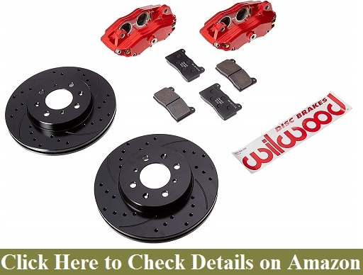 Wilwood 140-12996-DR Front Caliper and Rotor Kit