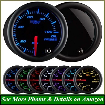 MOTOR METER RACING 6 Gauge Set