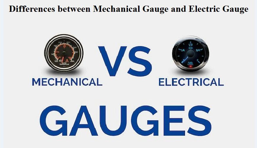 Mechanical Gauge and Electric Gauge