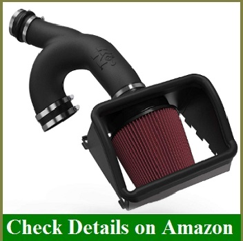K&N Cold Air Intake Kit High Performance, Guaranteed to Increase