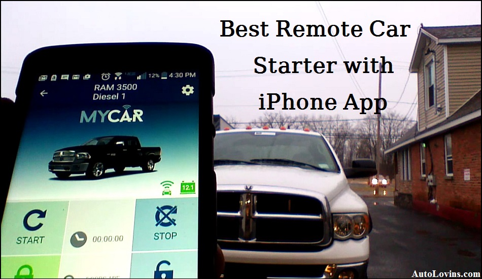 Best Remote Car Starter with iPhone app