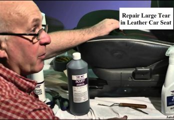 How to Repair Large Tear in Leather Car Seat