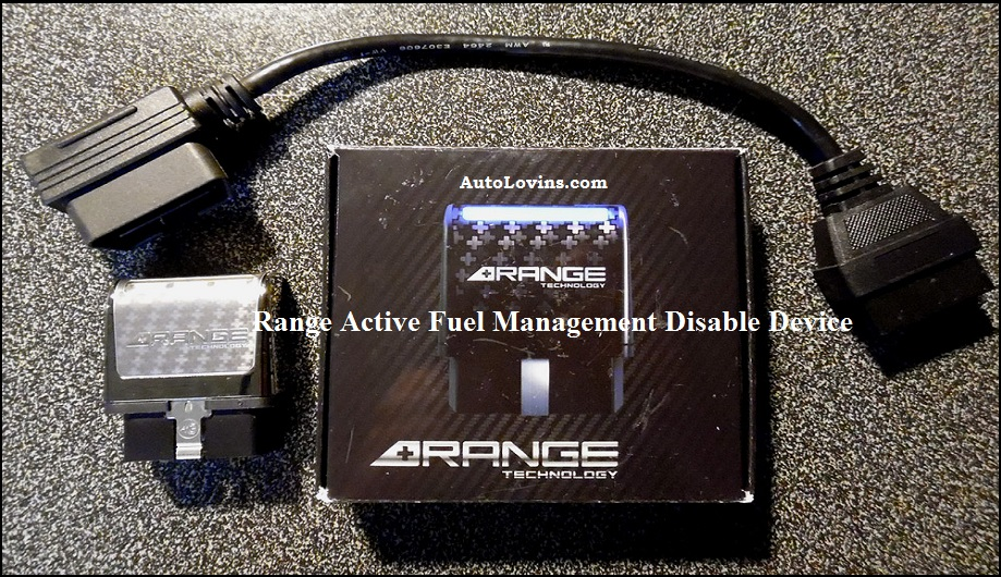 Range Active Fuel Management Disable device