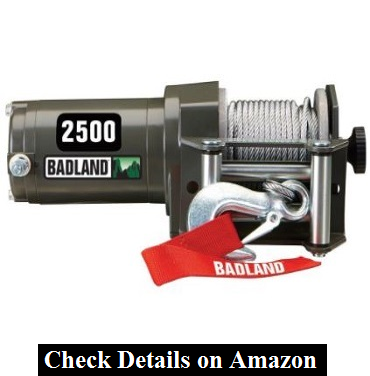 2500 lb. Electric ATV Utility Winch