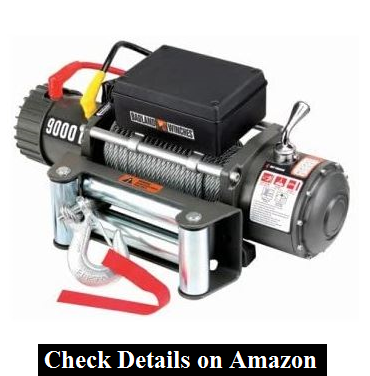 9000 lb Electric Winch with Automatic Brake