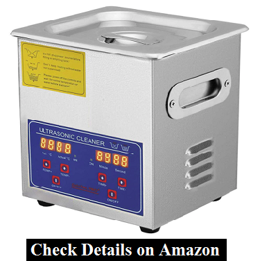 Mophorn Time 2L Industrial Commercial Ultrasonic Cleaner