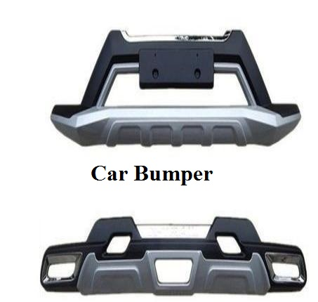 Car Bumper with image